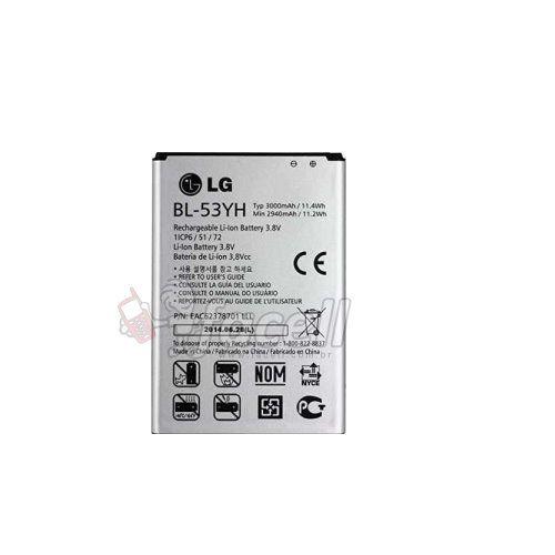 Bateria LG G3 D855 D690 BL-53YH 3000MAh- Original