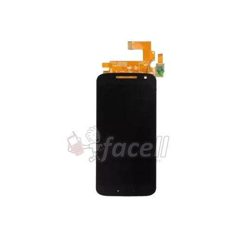 Touch + LCD (Frontal) Motorola Moto G4 XT1622 - C/aro Preto Original