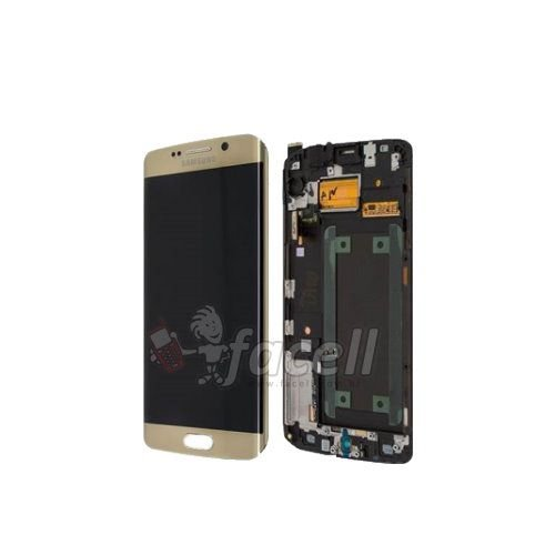 Touch + LCD (Frontal) Samsung Galaxy S6 Edge G925i Gold - Dourado