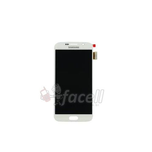 Touch + LCD (Frontal) Samsung S6 Sm-G920 / G920F - Branco