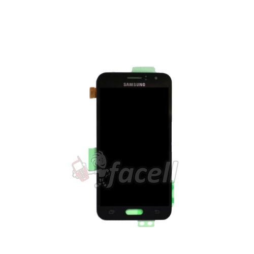 Touch + LCD (Frontal) Samsung J1 2016 / J120F DS - Preto - Original