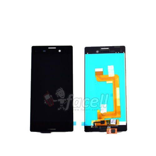 Touch + LCD (Frontal) Sony Xperia M4 Aqua E2006 / E2303 / E2353 - Preto