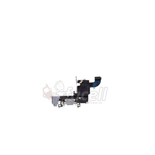 Flex Conector de Carga Iphone 6S Plus 5.5 Preto
