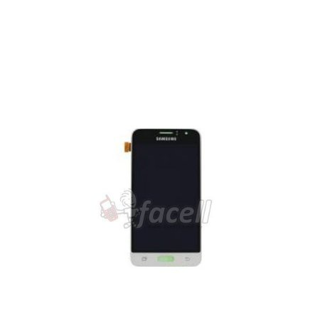 Touch + Lcd (Frontal) Samsung J1 2016 J120F DS Branco - Original