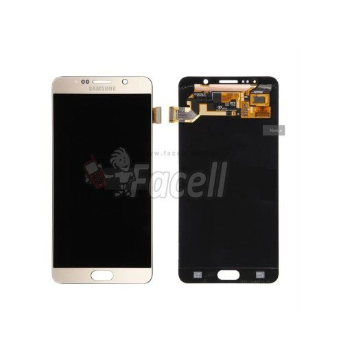 Frontal Samsung Galaxy Note 5 N920 Gold Dourado