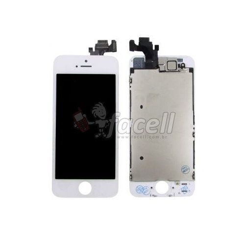 Touch + LCD (Frontal) iPhone 5 Branco - AAA