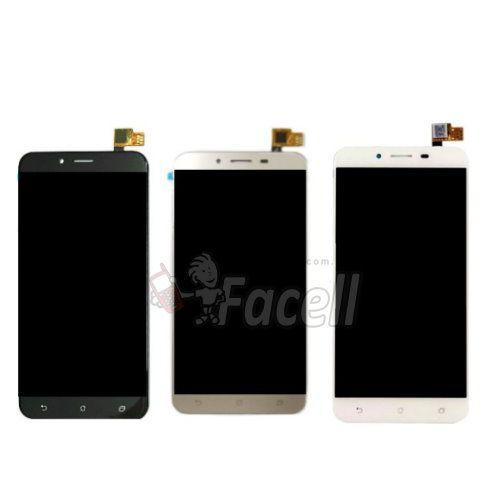 Frontal Asus Zenfone 3 Max ZC553KL 5.5 - Preto