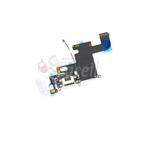 Flex Carga iPhone 6 G Preto  iPhone 4.7 - 1ª Linha