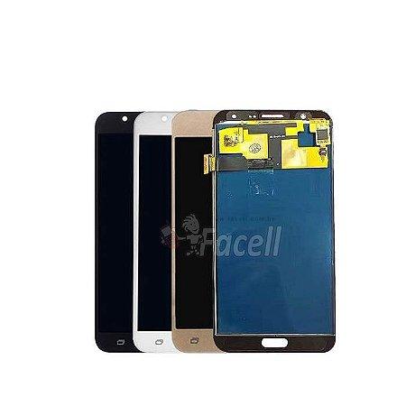 Frontal Samsung J7 j700 com Regulagem de Brilho 1 Linha - Escolha a Cor
