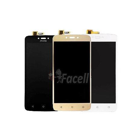 Frontal Motorola Moto C Xt1750 Xt1754 Xt1756 Xt1758 M0098 Sem Aro - Escolha Co
