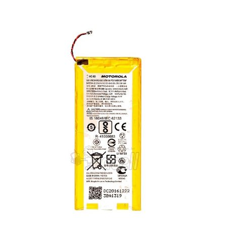 Bateria Moto G5 Plus HG40 2810mAh Blister