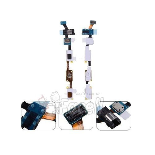Flex Home Menu Voltar Fone P2 Samsung SM-J700 J7