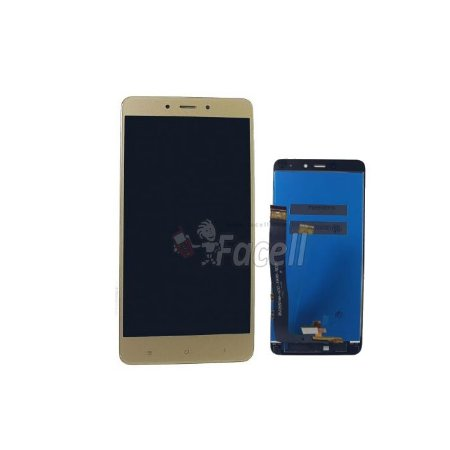 Frontal Xiaomi Redmi Note 4 Versão Mídia Teck MTK Dourado sem ArO