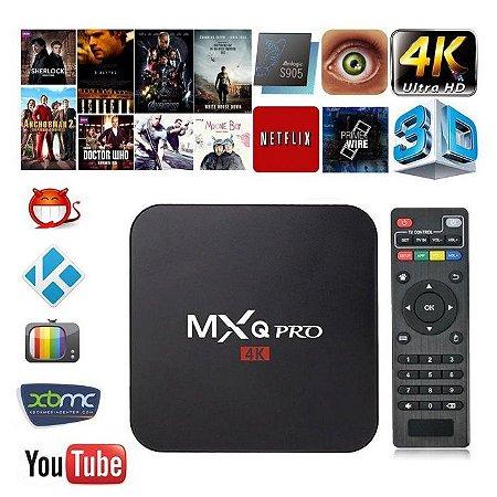 TV BOX 2GB RAM E 16 GB ROM TV BOX MXQ PRO 4K ANDROID 7.1