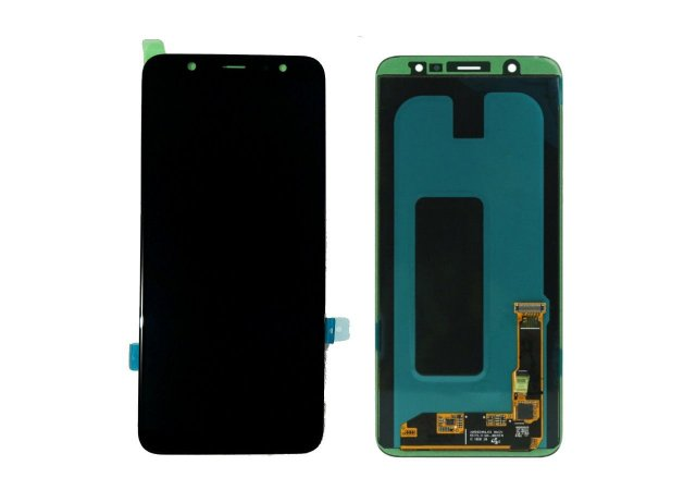 Display Frontal J8 Plus 2018 J805/ A6 Plus 6,2 Polegadas Preto Original sem Aro