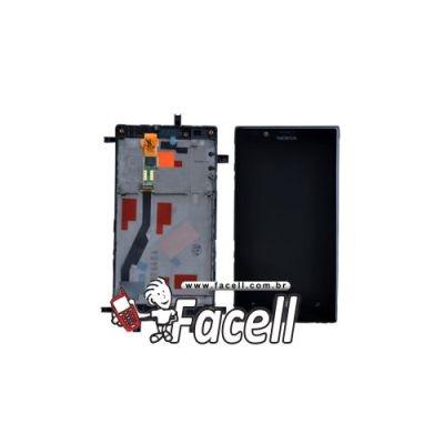 Touch + LCD (Frontal) Nokia Lumia 720 - Preto