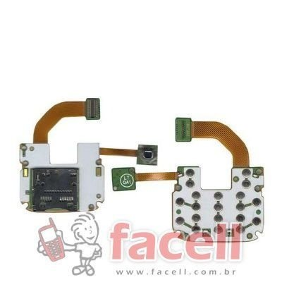 FLEX NOKIA N73 TECLADO