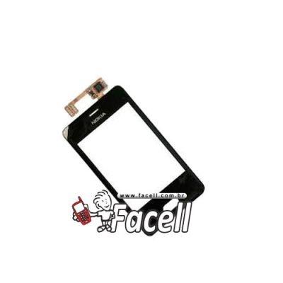 Touch Nokia Asha 501 Preto - 1ª Linha