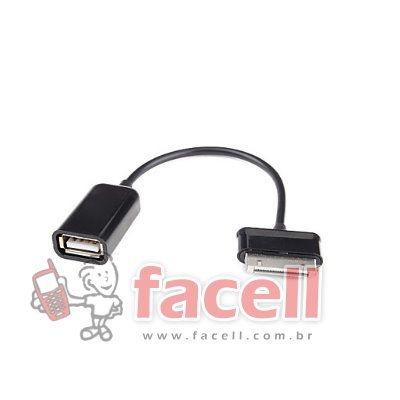 CONECTOR P/ TABLET ENTRADA USB - PRETO