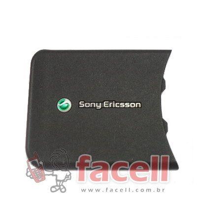 TAMPA SONY ERICSSON W580 - PRETO