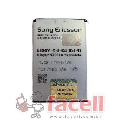 BATERIA SONY ERICSSON BST-41 - ORIGINAL