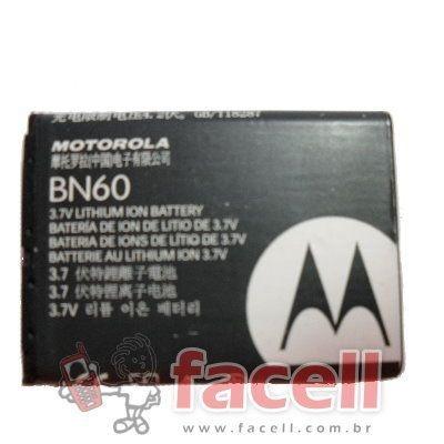 BATERIA MOTOROLA BN60 - ORIGINAL