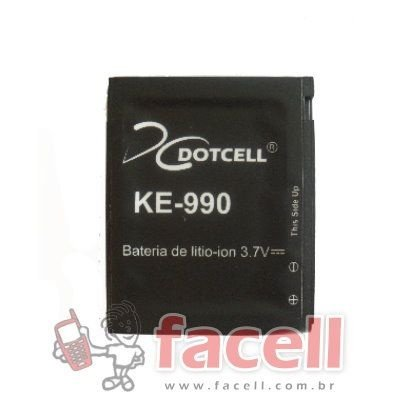 BATERIA LG - LGIP-580A - KE990 - DC