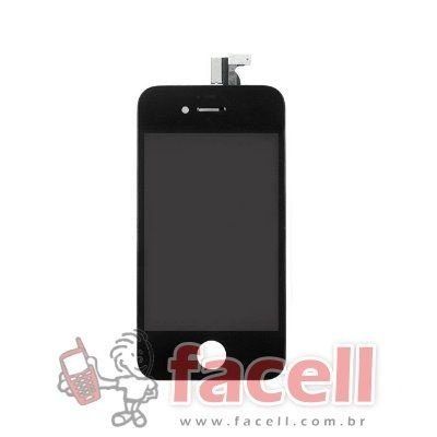 Touch + LCD (Frontal) iPhone 4 - Super AAA Preto