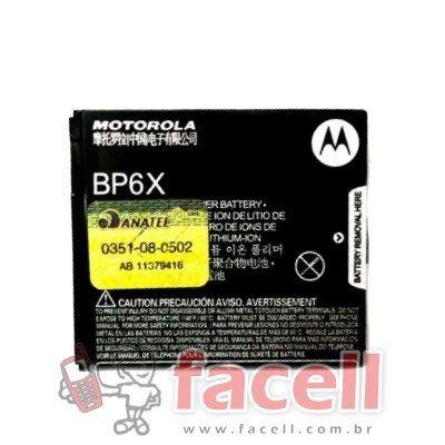 BATERIA MOTOROLA BP6X - ORIGINAL