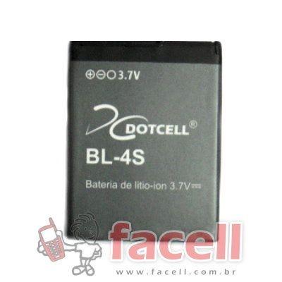 BATERIA NOKIA  BL-4S - DC (2680)