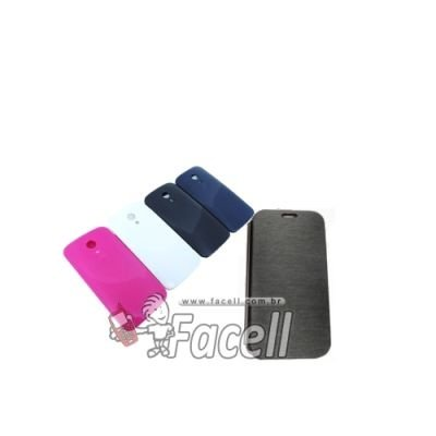 FLIP CASE COM TAMPA SAMSUNG DUOS II G7106 - PINK