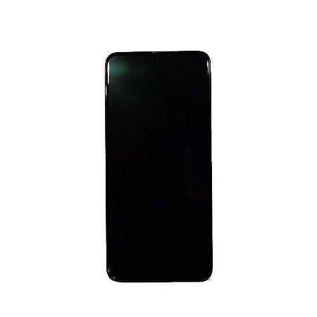 Display Frontal A70 A705 6,7 Polegadas Preto Aro Original