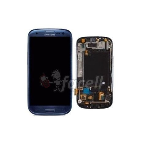 Touch + LCD (Frontal) Samsung Galaxy S3 I9300 - Azul