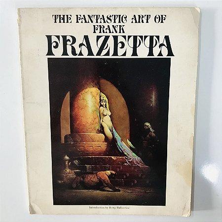 Art Book Frank Frazetta, Raro, Importado (Formato Album)