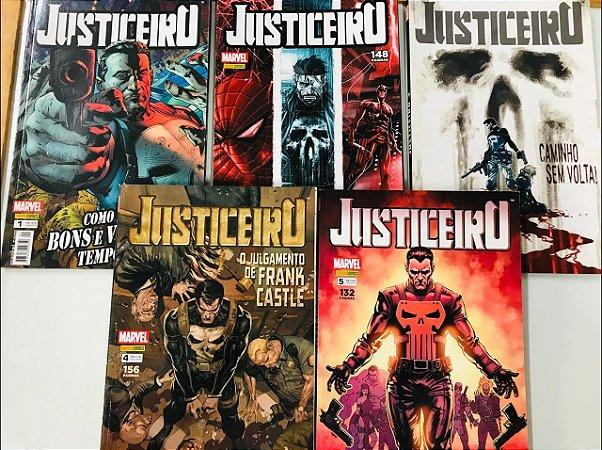 Justiceiro 1ª Série - completo - 1 a 5 (Encadernado)