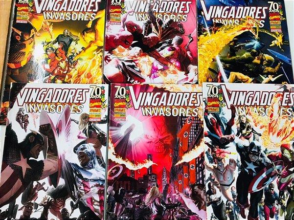 Vingadores & Invasores - Minissérie Completa 1 ao 6