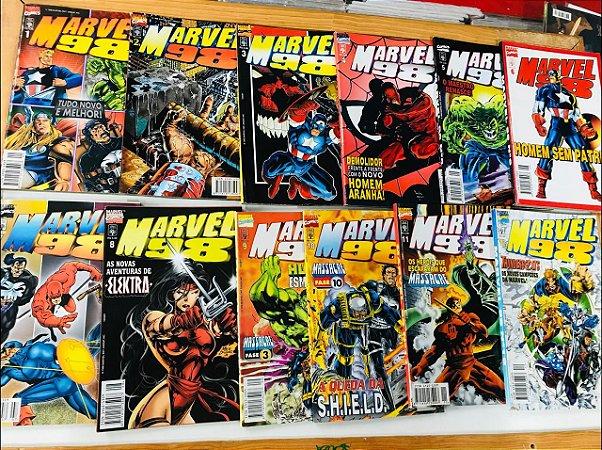 Marvel 98 - Minissérie Completa 1 ao 12