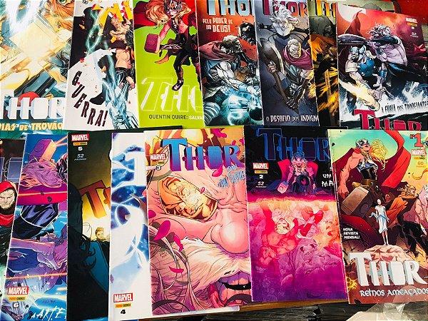 Thor 1ª Série - Série Completa Em 14 Edições