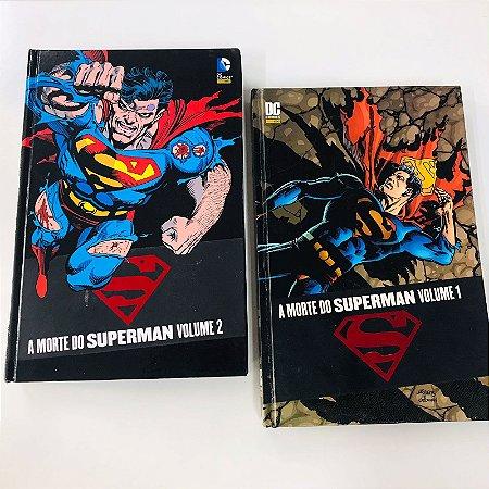 Morte do Superman - Completo 2 volumes (Capa Dura)
