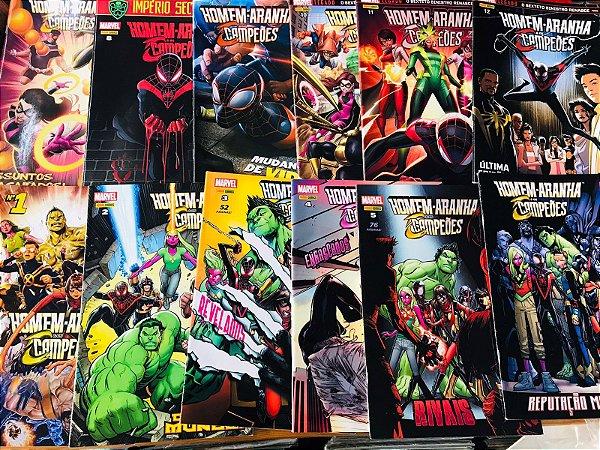 Homem Aranha & Os Campeões - Completo 1 Ao 12, Panini 2012
