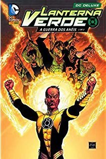 Minissérie completa - Lanterna Verde - A Guerra dos Anéis