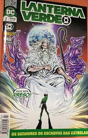 Lantera Verde #2 - Os senhores de escravos das estrelas, Grant Morrison