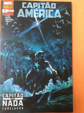 Capitão América #7 - Capitão de nada (conclusão)