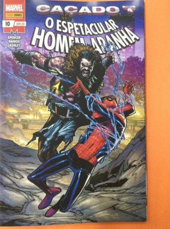 O espetacular Homem-Aranha #10 - Caçado part.4