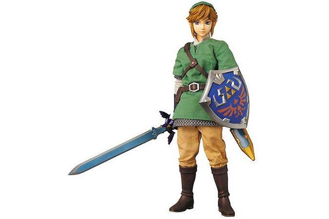 Link The Legend of Zelda Skyward Sword Real Action Heroes No.622 Medicom Toy Original