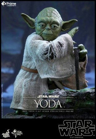 Mestre Yoda Star Wars Hot Toys Original