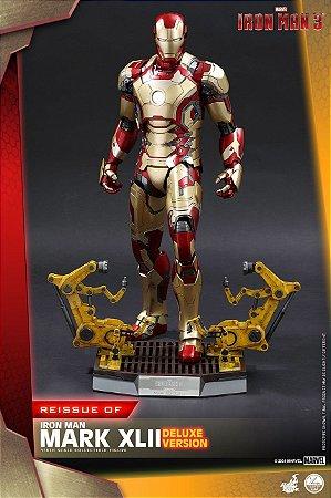 Homem de Ferro Mark 42 Homem de Ferro 3 Quarter Scale Hot Toys Original