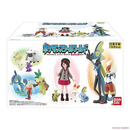 Lillie e set pokemons Pokemon Scale World Bandai Original