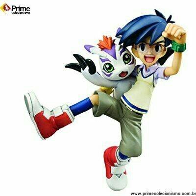 Joe Kido e Gomamon Digimon Adventure G.E.M. Megahouse original ENCOMENDA