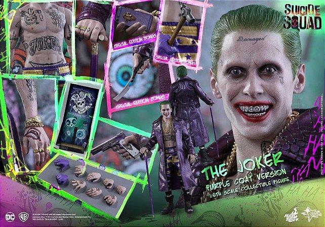 Joker Purple Suit Esquadrão Suicida Hot Toys Original Versão exclusiva com bonus